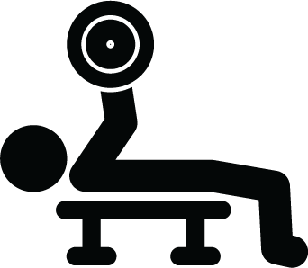 Pictogram Bench Press